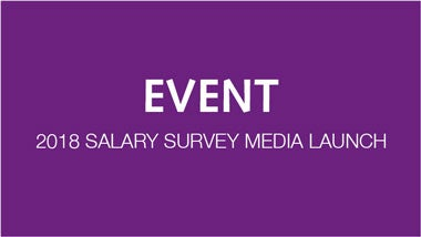 salary survey 2018 media launch