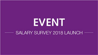 event salary survey 2018 launch